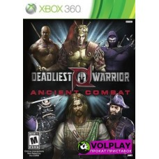 Deadliest Warrior (2012) Xbox360