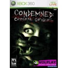 Condemned Criminal Origins (2005) Xbox360