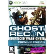 Tom Clancy's Ghost Recon Advanced Warfighter Premium Edition (2006) XBOX360