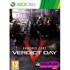 Armored Core Verdict Day (2013) XBOX360