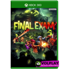 Final Exam (2013) XBOX360