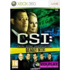 CSI: Deadly Intent (2009) XBOX360
