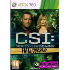 CSI: Fatal Conspiracy (2010) XBOX360