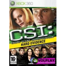 CSI: Hard Evidence (2007) XBOX360