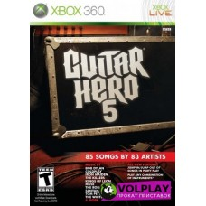 Guitar Hero - 5 (2009) XBOX360